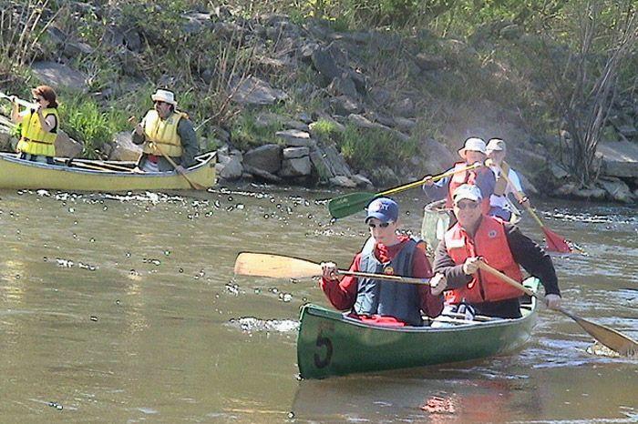 Descente en canots de la rivière Saint-Charles 02 2004 - 02