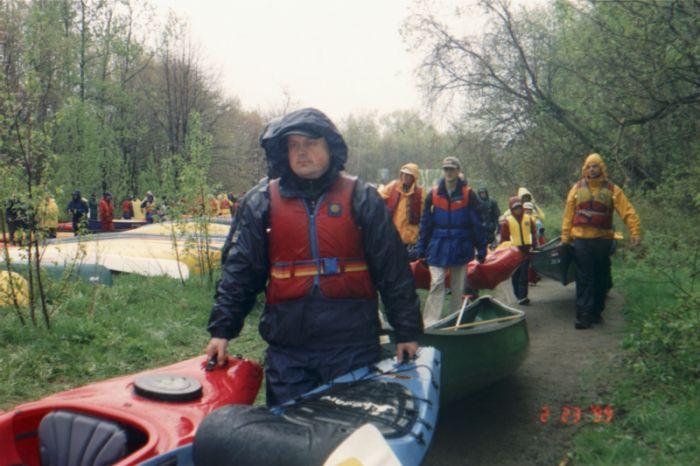 Descente en canots de la rivière Saint-Charles 2006 - 01